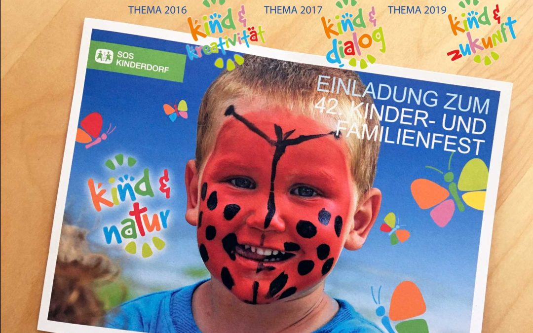 SOS Kinderdorf Feiereinladung