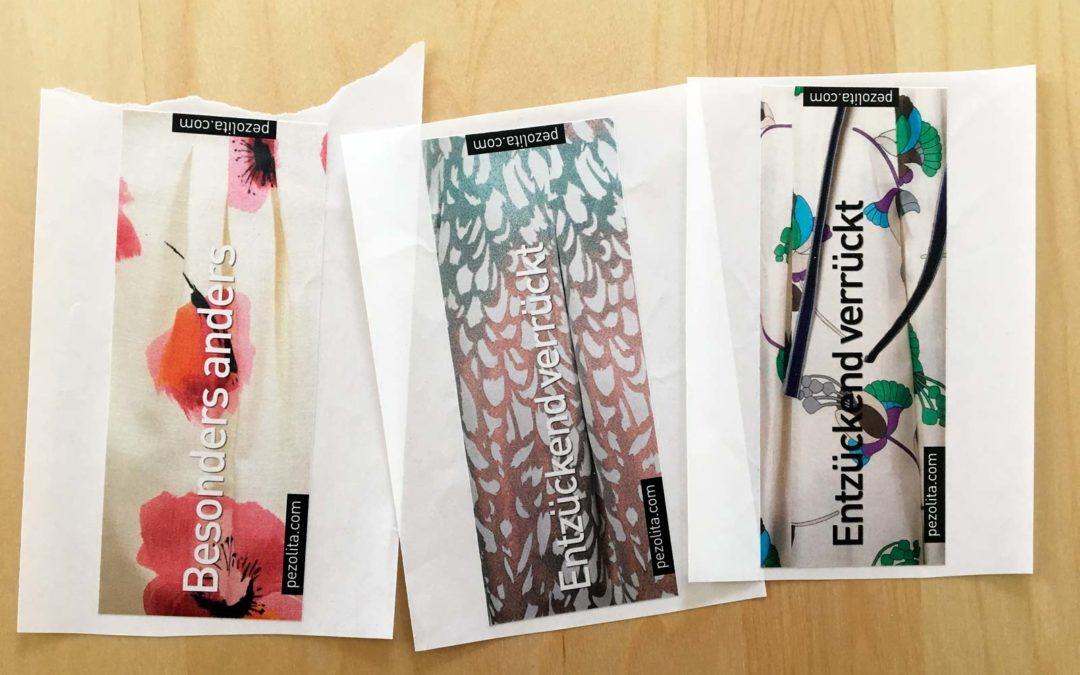 Pezolita Aufkleber für Papiersackerl